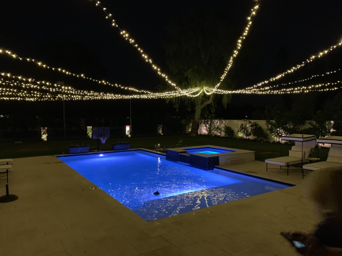 Pool Party Lighting