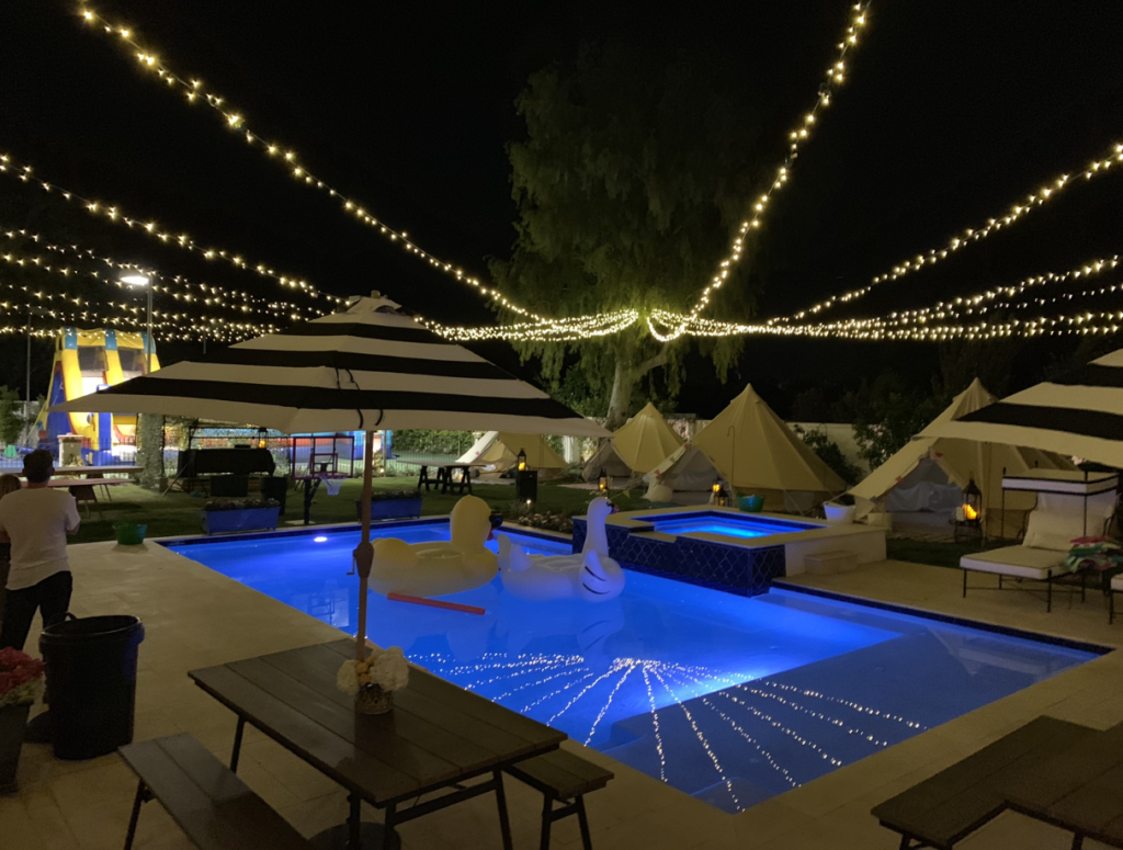 Scottsdale Residential Party Lighting