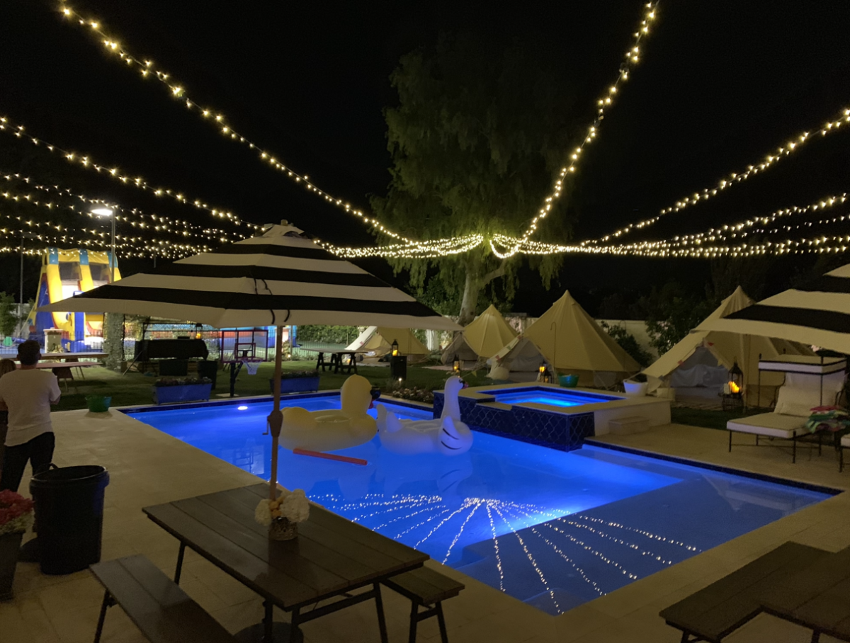 Scottsdale Party Lighting Installation